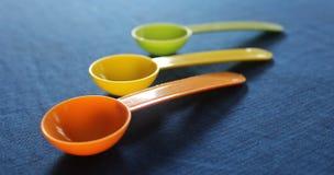 Πλαστικά κουτάλια Στοκ Εικόνα
