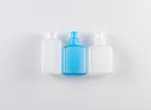 Πλαστικά μπουκάλια για το ταξίδι Στοκ φωτογραφία με δικαίωμα ελεύθερης χρήσης