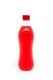 Πλαστικά μπουκάλια νερό κατανάλωσης, Στοκ Εικόνες