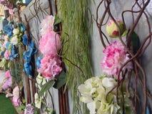Πλαστικά λουλούδια Στοκ Φωτογραφία