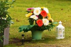 Πλαστικά λουλούδια Στοκ εικόνα με δικαίωμα ελεύθερης χρήσης