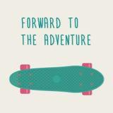 Πλαστικά skateboards, γνωστά μέσα στη βιομηχανία ως κοντός πίνακας πενών ταχύπλοων σκαφών ελεύθερη απεικόνιση δικαιώματος