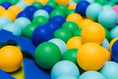 Πλαστικές σφαίρες παιδιών Στοκ εικόνες με δικαίωμα ελεύθερης χρήσης