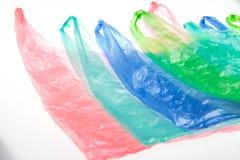 Πλαστικές τσάντες στοκ εικόνες