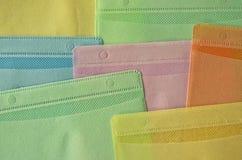 Πλαστικές τσάντες CD Στοκ Εικόνα