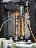 Πλαστική κατασκευή μπουκαλιών υψηλής τεχνολογίας βιομηχανική Στοκ Φωτογραφίες