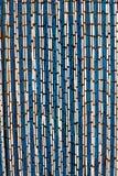 Πλαστική πόρτα τυφλή Στοκ εικόνα με δικαίωμα ελεύθερης χρήσης