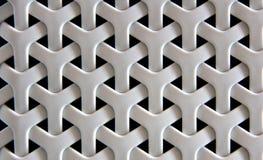 Πλαστική σύσταση καλαθιών ύφανσης Στοκ Φωτογραφία