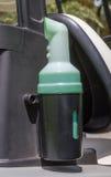 Πλαστική τεθειμένη μπουκάλι άμμος Στοκ Εικόνα