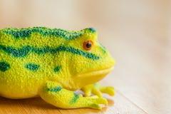 Πλαστικός βάτραχος Στοκ εικόνα με δικαίωμα ελεύθερης χρήσης