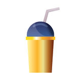 Πλαστικός θόλος φλυτζανιών Στοκ εικόνα με δικαίωμα ελεύθερης χρήσης