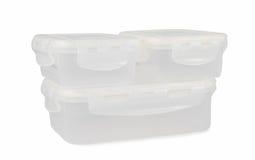 πλαστικό εμπορευματοκιβώτιο που απομονώνεται στο άσπρο υπόβαθρο, κενό κιβώτιο Στοκ Φωτογραφίες