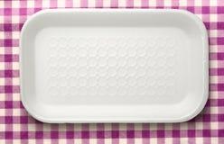 Πλαστικό εμπορευματοκιβώτιο τροφίμων Στοκ Φωτογραφίες