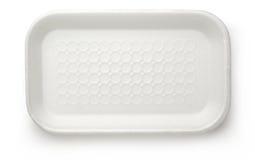 Πλαστικό εμπορευματοκιβώτιο τροφίμων Στοκ εικόνες με δικαίωμα ελεύθερης χρήσης