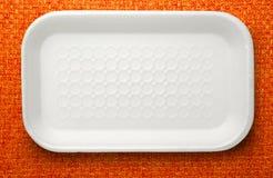 Πλαστικό εμπορευματοκιβώτιο τροφίμων Στοκ φωτογραφίες με δικαίωμα ελεύθερης χρήσης