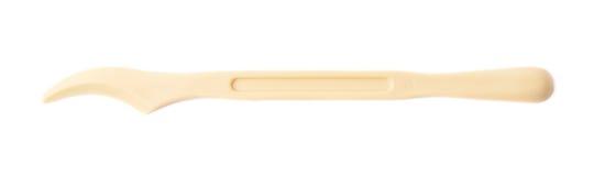Πλαστικό εργαλείο μαχαιριών που απομονώνεται Στοκ φωτογραφία με δικαίωμα ελεύθερης χρήσης