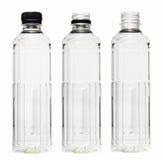 Πλαστικό μπουκάλι νερό Στοκ Εικόνες