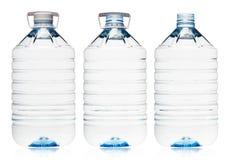 Πλαστικό μπουκάλι νερό Στοκ εικόνες με δικαίωμα ελεύθερης χρήσης