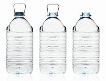 Πλαστικό μπουκάλι νερό Στοκ φωτογραφίες με δικαίωμα ελεύθερης χρήσης