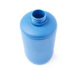 Πλαστικό μπουκάλι του υγρού σαπουνιού που απομονώνεται πέρα από το άσπρο υπόβαθρο Στοκ Εικόνες