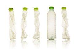 Πλαστικό μπουκάλι Στοκ Εικόνα