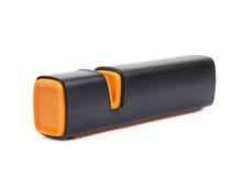 Πλαστικό sharpener μαχαιριών που απομονώνεται Στοκ Εικόνα