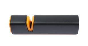 Πλαστικό sharpener μαχαιριών που απομονώνεται Στοκ Φωτογραφίες