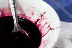 Πλαστό αίμα Στοκ Φωτογραφίες