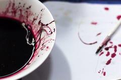 Πλαστό αίμα Στοκ εικόνα με δικαίωμα ελεύθερης χρήσης