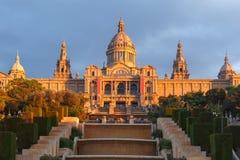 Πλατεία ή Placa de Espanya, Βαρκελώνη, Ισπανία της Ισπανίας Στοκ Φωτογραφίες
