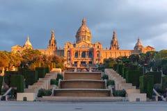 Πλατεία ή Placa de Espanya, Βαρκελώνη, Ισπανία της Ισπανίας Στοκ Εικόνες