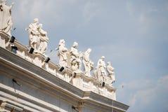 Πλατεία Βατικάνου Άγιος Peter στη πόλη του Βατικανού Στοκ Φωτογραφίες