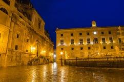 Πλατεία Πρετόρια στο Παλέρμο, Σικελία Στοκ φωτογραφία με δικαίωμα ελεύθερης χρήσης
