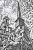 πλατεία Ρώμη navona Στοκ Εικόνα