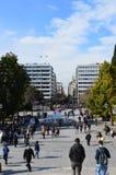 Πλατεία Συντάγματος Στοκ εικόνα με δικαίωμα ελεύθερης χρήσης