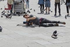 Πλατεία της Βενετίας SAN Marco ` s Στοκ Εικόνες