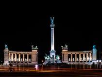 Πλατεία της Βουδαπέστης Στοκ εικόνα με δικαίωμα ελεύθερης χρήσης