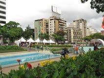 Πλατεία της Γαλλίας στο Καράκας Βενεζουέλα Στοκ Φωτογραφίες