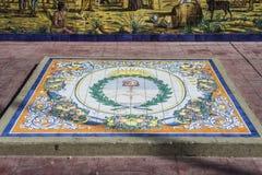 Πλατεία της Ισπανίας σε Mendoza, Αργεντινή. Στοκ Εικόνες