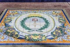 Πλατεία της Ισπανίας σε Mendoza, Αργεντινή Στοκ Εικόνες