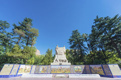 Πλατεία της Ισπανίας σε Mendoza, Αργεντινή Στοκ εικόνα με δικαίωμα ελεύθερης χρήσης