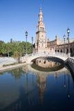 Πλατεία της Ισπανίας (Plaza de España) Σεβίλλη Ισπανία Στοκ φωτογραφία με δικαίωμα ελεύθερης χρήσης