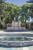 Πλατεία της Ιταλίας (Plaza Ιταλία) σε Mendoza, Αργεντινή. Στοκ Εικόνες