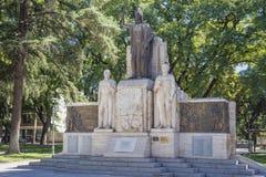 Πλατεία & x28 της Ιταλίας Plaza Italia& x29  σε Mendoza, Αργεντινή Στοκ Εικόνα