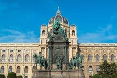 Πλατεία της Μαρίας Theresia στη Βιέννη Στοκ φωτογραφίες με δικαίωμα ελεύθερης χρήσης
