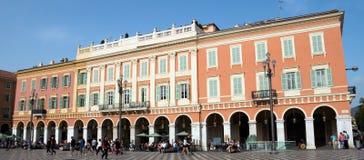 Πλατεία της Νίκαιας - Plaza Massena Στοκ εικόνα με δικαίωμα ελεύθερης χρήσης