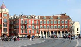 Πλατεία της Νίκαιας - Plaza Massena Στοκ φωτογραφίες με δικαίωμα ελεύθερης χρήσης