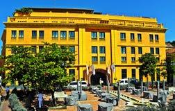 Πλατεία της Τερέζα Santa στην ιστορική πόλη της Καρχηδόνας, Κολομβία Στοκ φωτογραφία με δικαίωμα ελεύθερης χρήσης