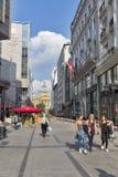 Πλατεία της Elizabeth στη Βουδαπέστη, Ουγγαρία Στοκ φωτογραφία με δικαίωμα ελεύθερης χρήσης