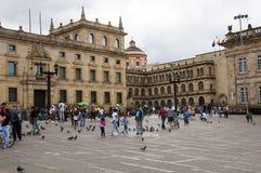 Πλατεία του Simon Bolivar Στοκ Εικόνες